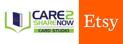 Care 2 Share Now Card Studio Etsy store